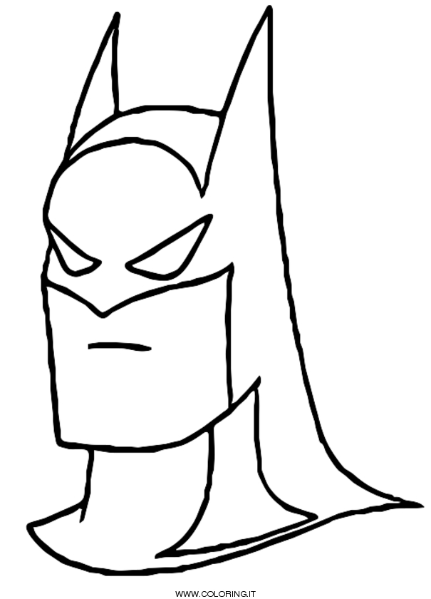 BATMAN Disegni da colorare - COLORING .IT
